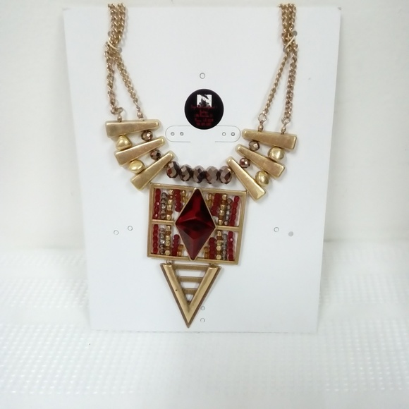 Deja Vous Jewelry - NWT Ruby Red Statement Necklace